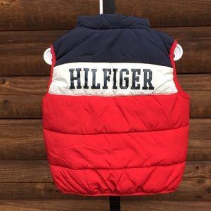 Tommy Hilfiger kids puffer vest